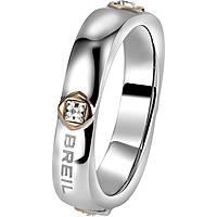 bague femme bijoux Breil Crossing Love TJ1556