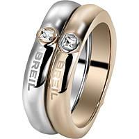 bague femme bijoux Breil Crossing Love TJ1559