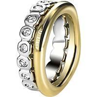 bague femme bijoux Breil Rolling Diamonts TJ1544