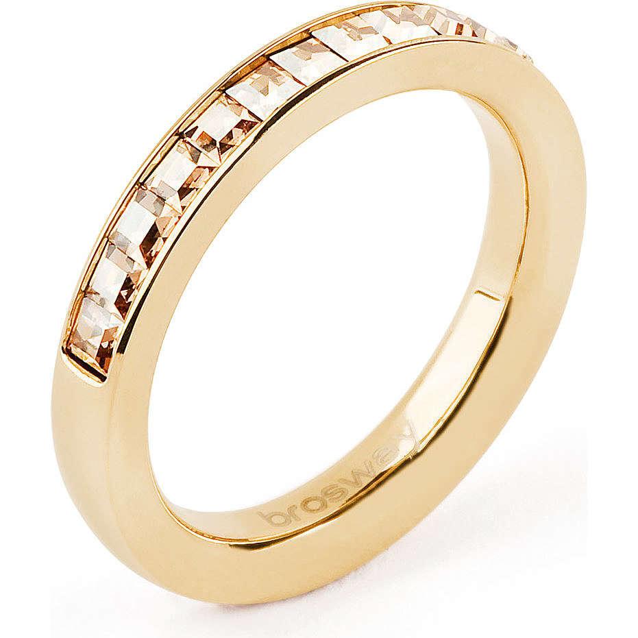 bague femme bijoux Brosway Tring BTGC57C
