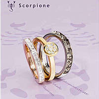 bague femme bijoux Brosway Tring Segno Zodiacale BTGZ08B