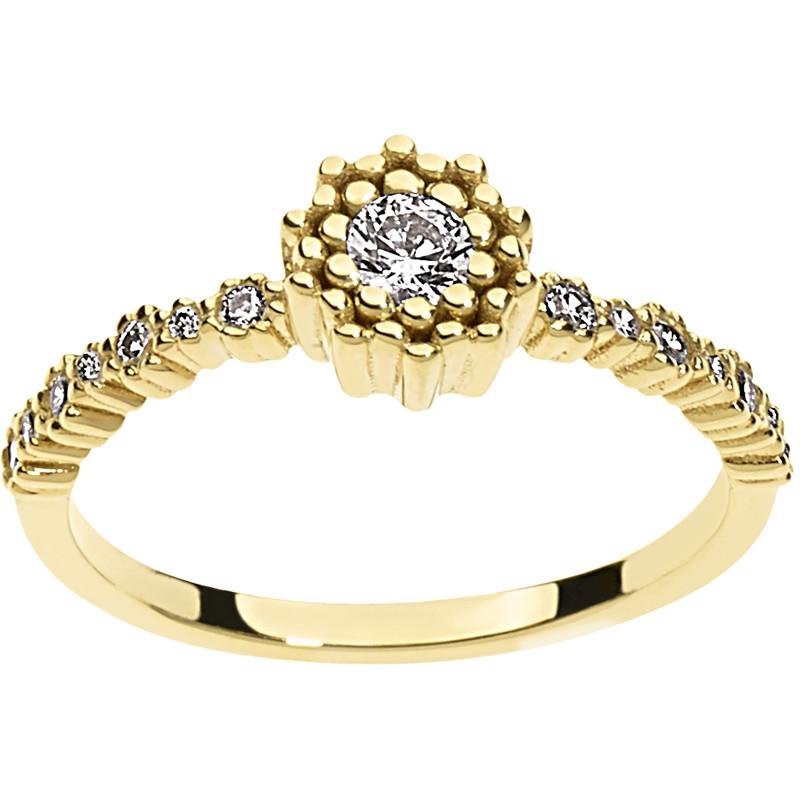 bague femme bijoux Comete ANB 1801