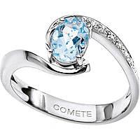 bague femme bijoux Comete Pietre preziose colorate ANQ 271