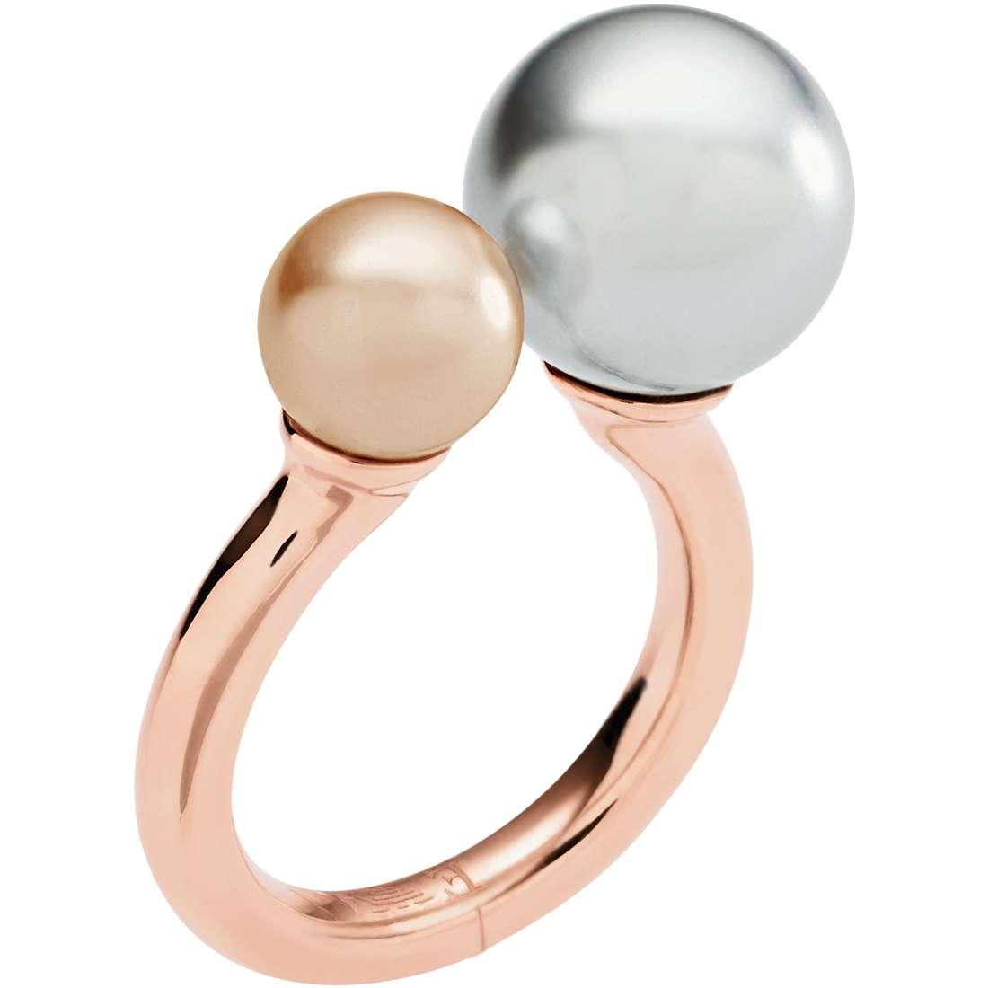 bague femme bijoux Emporio Armani Deco EGS2147221503