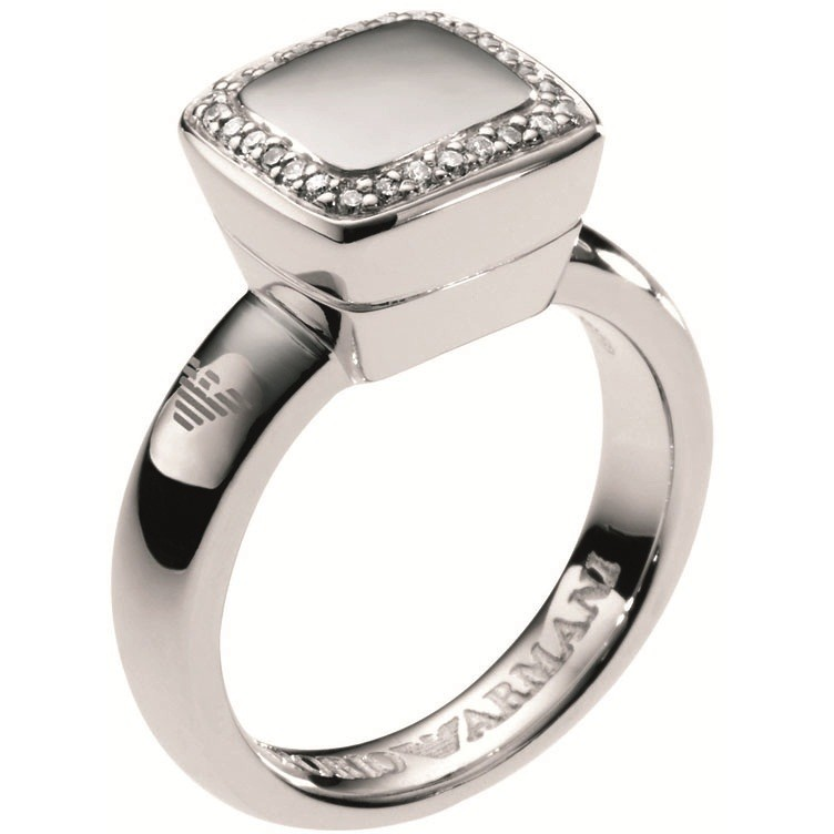 bague femme bijoux Emporio Armani EG2742040505