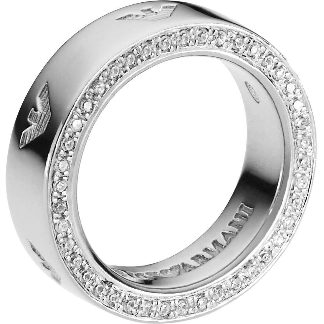 bague femme bijoux Emporio Armani EG3059040503