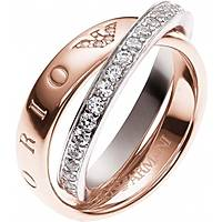 bague femme bijoux Emporio Armani EG3123221510
