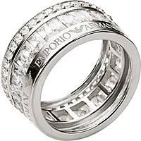 bague femme bijoux Emporio Armani EG3166040503