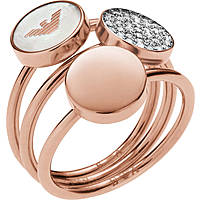 bague femme bijoux Emporio Armani EGS2310221505