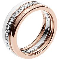 bague femme bijoux Emporio Armani EGS2363040508