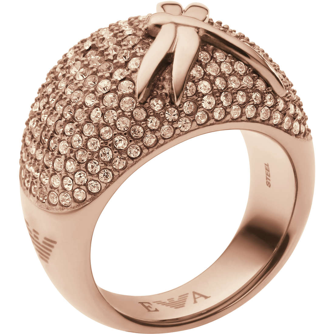 bague femme bijoux Emporio Armani Fall 2013 EGS1785221508