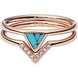 bague femme bijoux Fossil Fashion JF02645791510