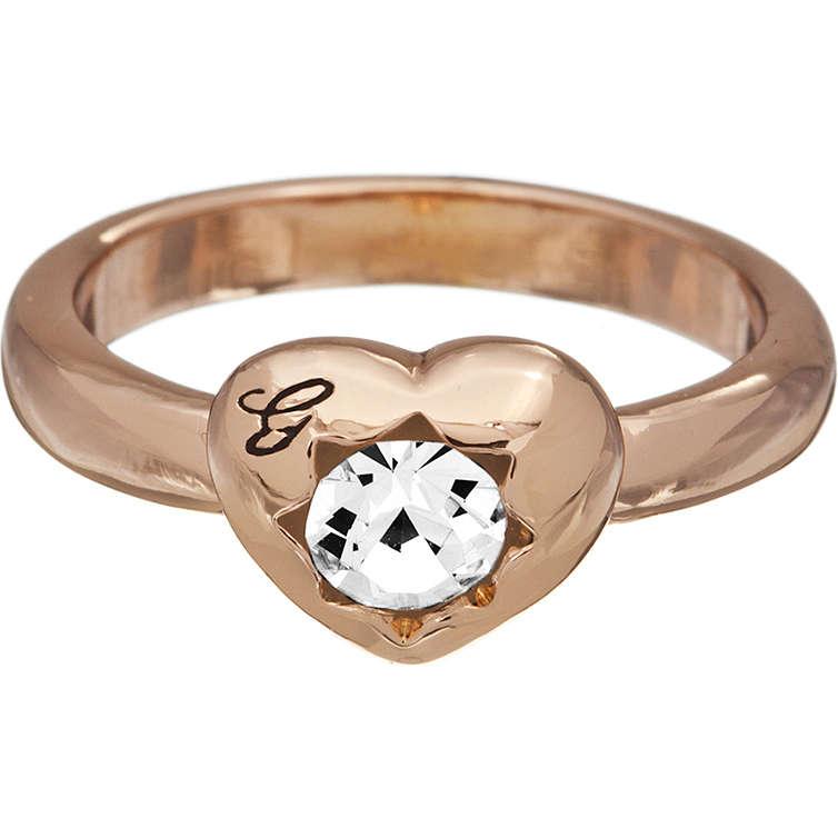 bague femme bijoux Guess CRYSTALS OF LOVE UBR51410-54
