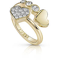 bague femme bijoux Guess Me & You UBR84053-54
