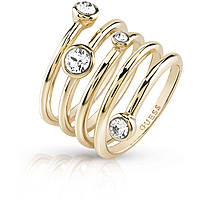 bague femme bijoux Guess Me & You UBR84056-58