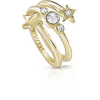 bague femme bijoux Guess Starlicious UBR84003-58