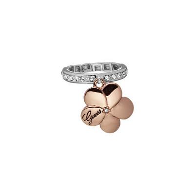 bague femme bijoux Guess UBR31102-S