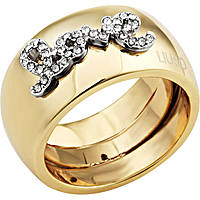 bague femme bijoux Liujo Destini LJ1010