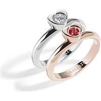 bague femme bijoux Morellato Love Rings SNA32014