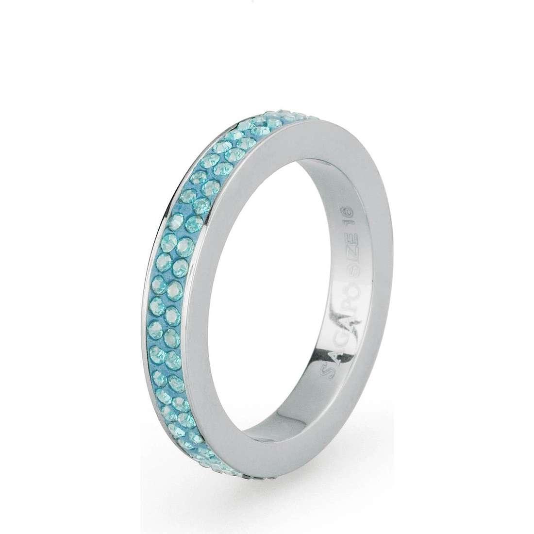 bague femme bijoux Sagapò Crystal ring SCR38B