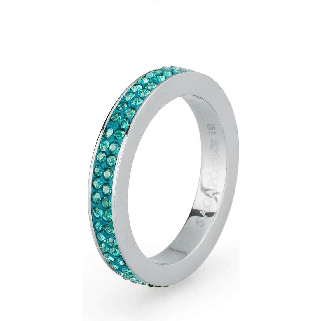 bague femme bijoux Sagapò Crystal ring SCR39A