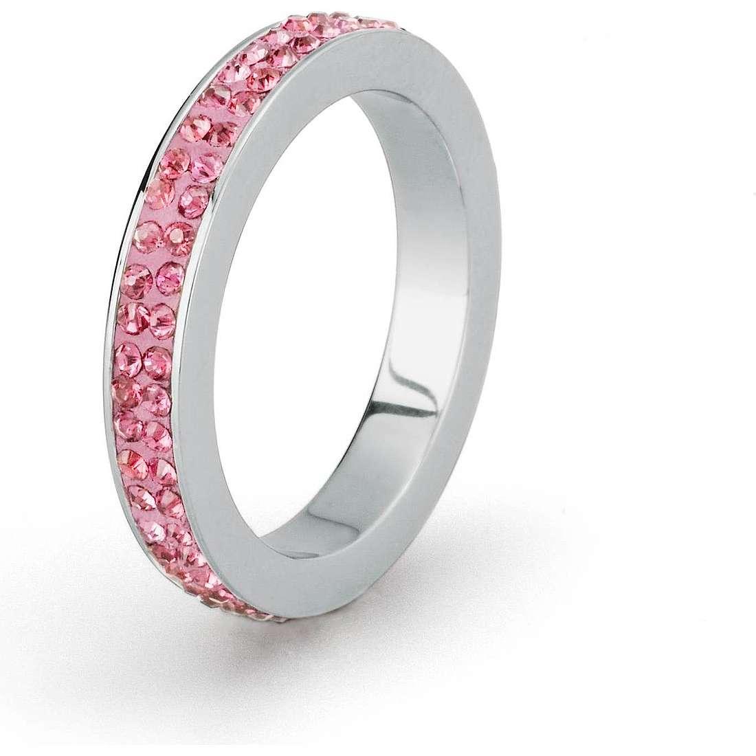bague femme bijoux Sagapò Crystal ring SCR40E