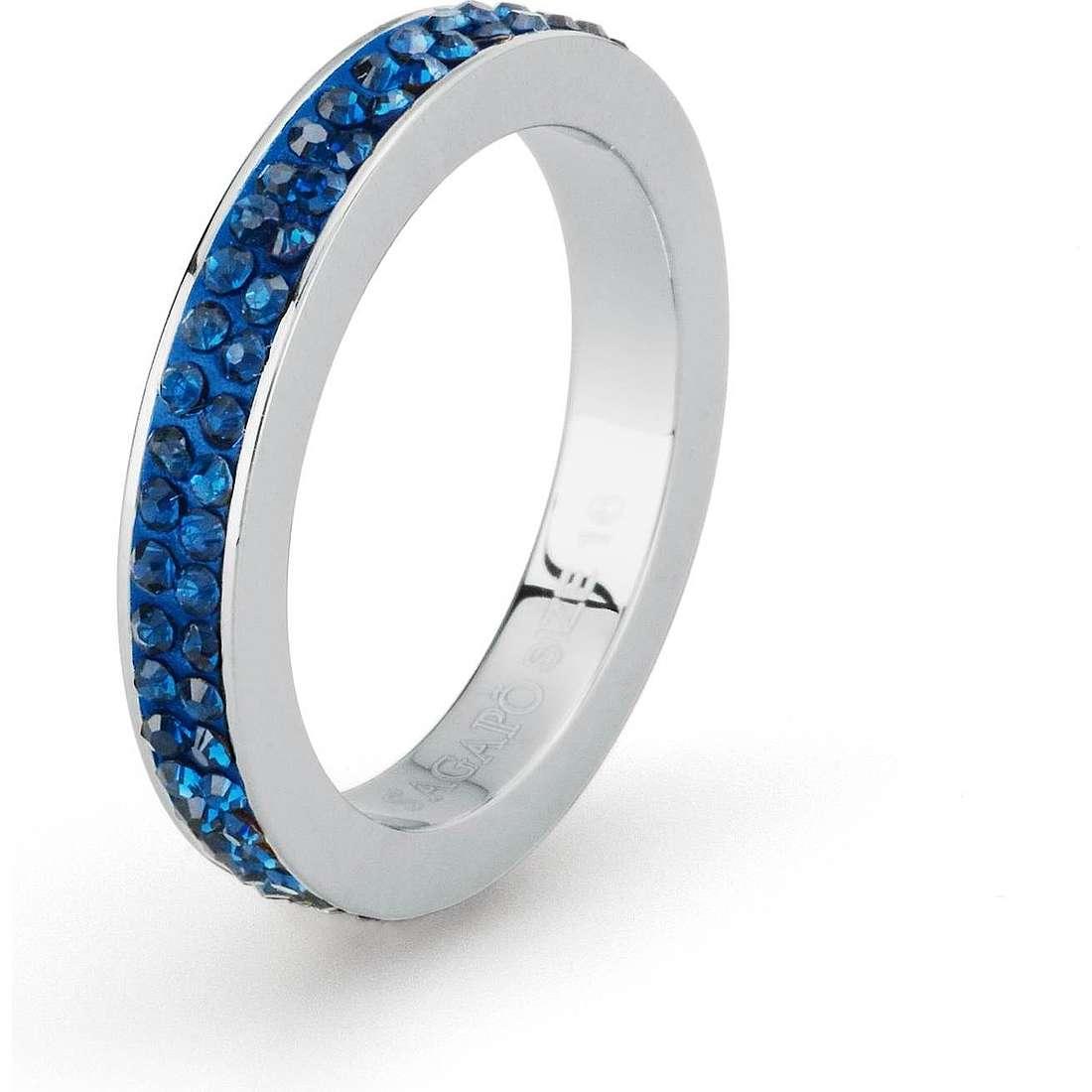 bague femme bijoux Sagapò Crystal ring SCR41B