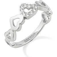 bague femme bijoux Sector Family & Love SACN25018