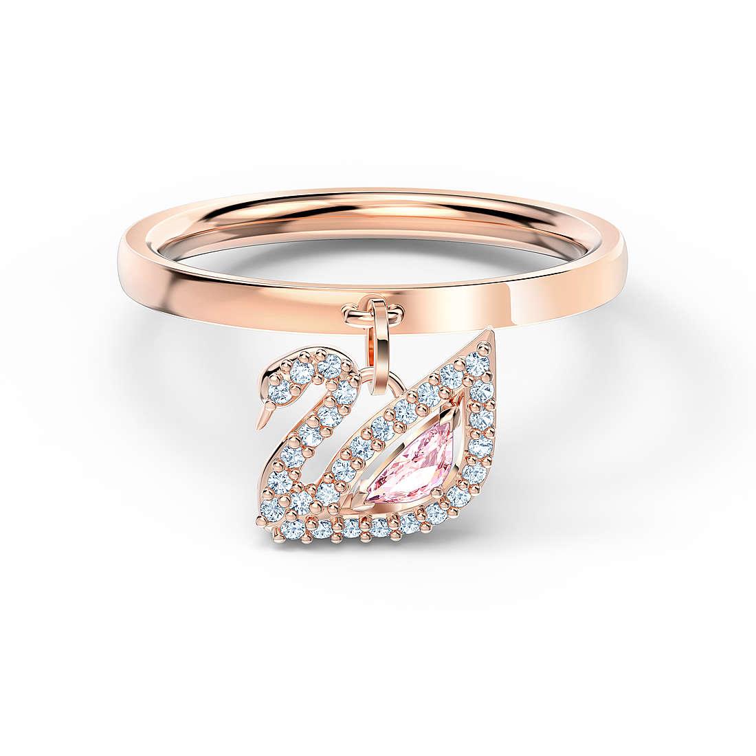 bague femme bijoux Swarovski Dazzling Swan 5569924