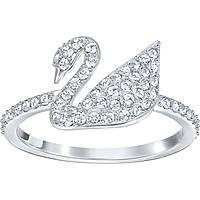 bague femme bijoux Swarovski Iconic Swan 5250743
