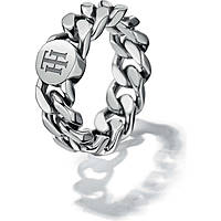 bague femme bijoux Tommy Hilfiger Chain THJ2700966B