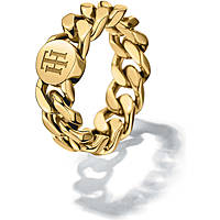 bague femme bijoux Tommy Hilfiger Chain THJ2700967B