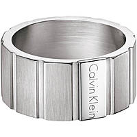 bague homme bijoux Calvin Klein Plate KJ5SMR080109