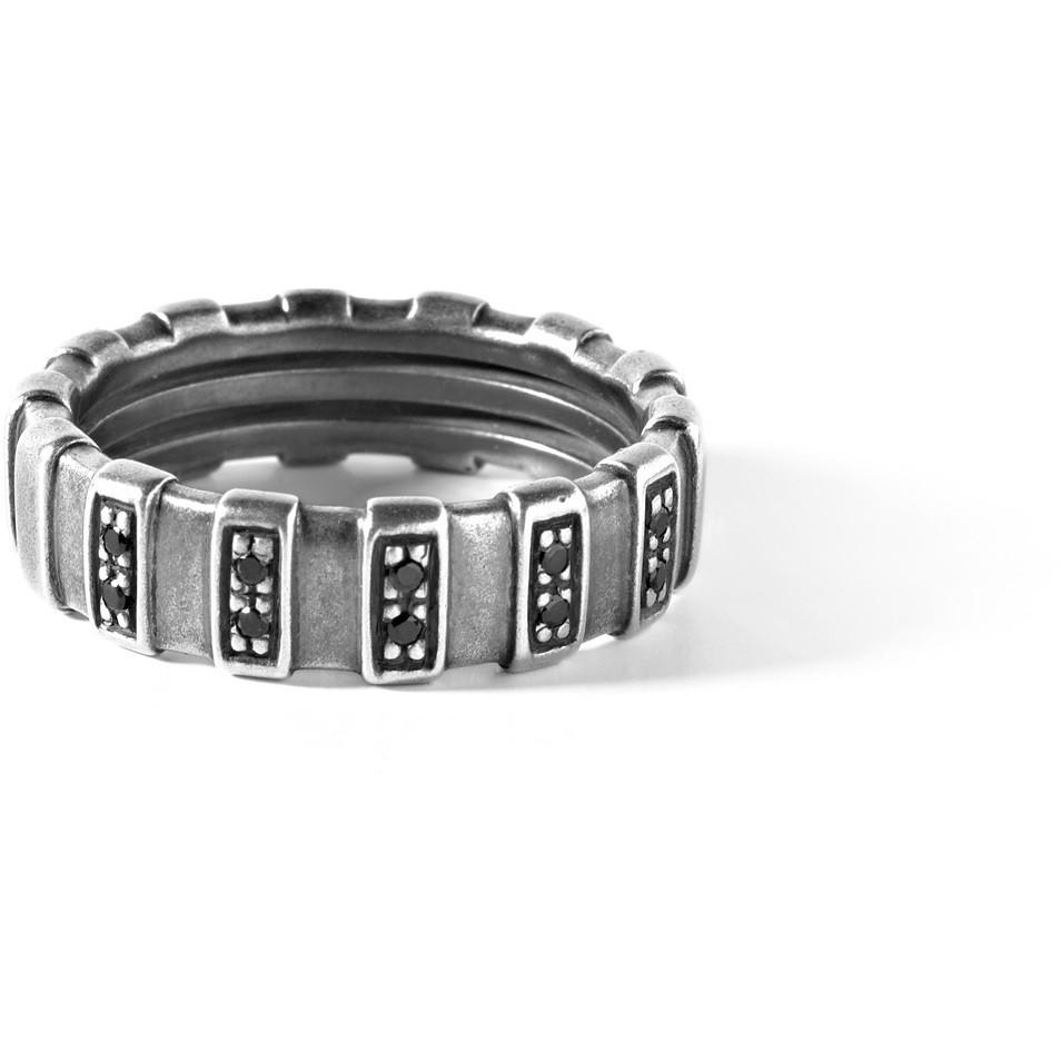 bague homme bijoux Comete Argento 925 UAN 114L