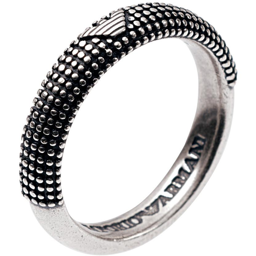 bague homme bijoux Emporio Armani EG2818040514