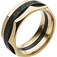 bague homme bijoux Emporio Armani EGS2402710512