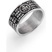 bague unisex bijoux Amen Ave Maria Italiano AMS02925-14