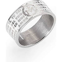bague unisex bijoux Amen Ave Maria Italiano AMS07925-14