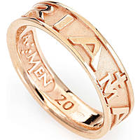 bague unisex bijoux Amen Ave Maria Italiano AVER-12