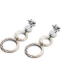 boucles d'oreille femme bijoux 4US Cesare Paciotti Bicolor Jggler 4UOR1983W