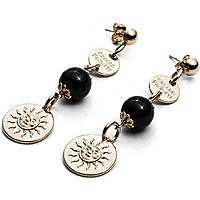 boucles d'oreille femme bijoux 4US Cesare Paciotti Black Pearls 4UOR1813W