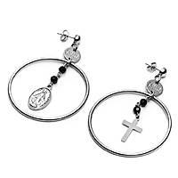 boucles d'oreille femme bijoux 4US Cesare Paciotti Cathedral 4UOR2239W