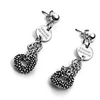 boucles d'oreille femme bijoux 4US Cesare Paciotti Circular Nugget 4UOR2227W