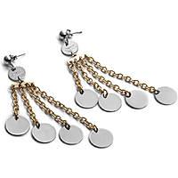 boucles d'oreille femme bijoux 4US Cesare Paciotti Classic Collection 4UOR1642W