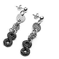boucles d'oreille femme bijoux 4US Cesare Paciotti Endless Nugget 4UOR2233W