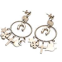 boucles d'oreille femme bijoux 4US Cesare Paciotti Gold Rain 4UOR2261W
