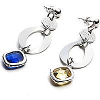 boucles d'oreille femme bijoux 4US Cesare Paciotti Light Rhombus 4UOR1802W