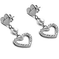 boucles d'oreille femme bijoux 4US Cesare Paciotti Love Pendent 4UOR2021W