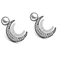 boucles d'oreille femme bijoux 4US Cesare Paciotti Moon Slice 4UOR2027W