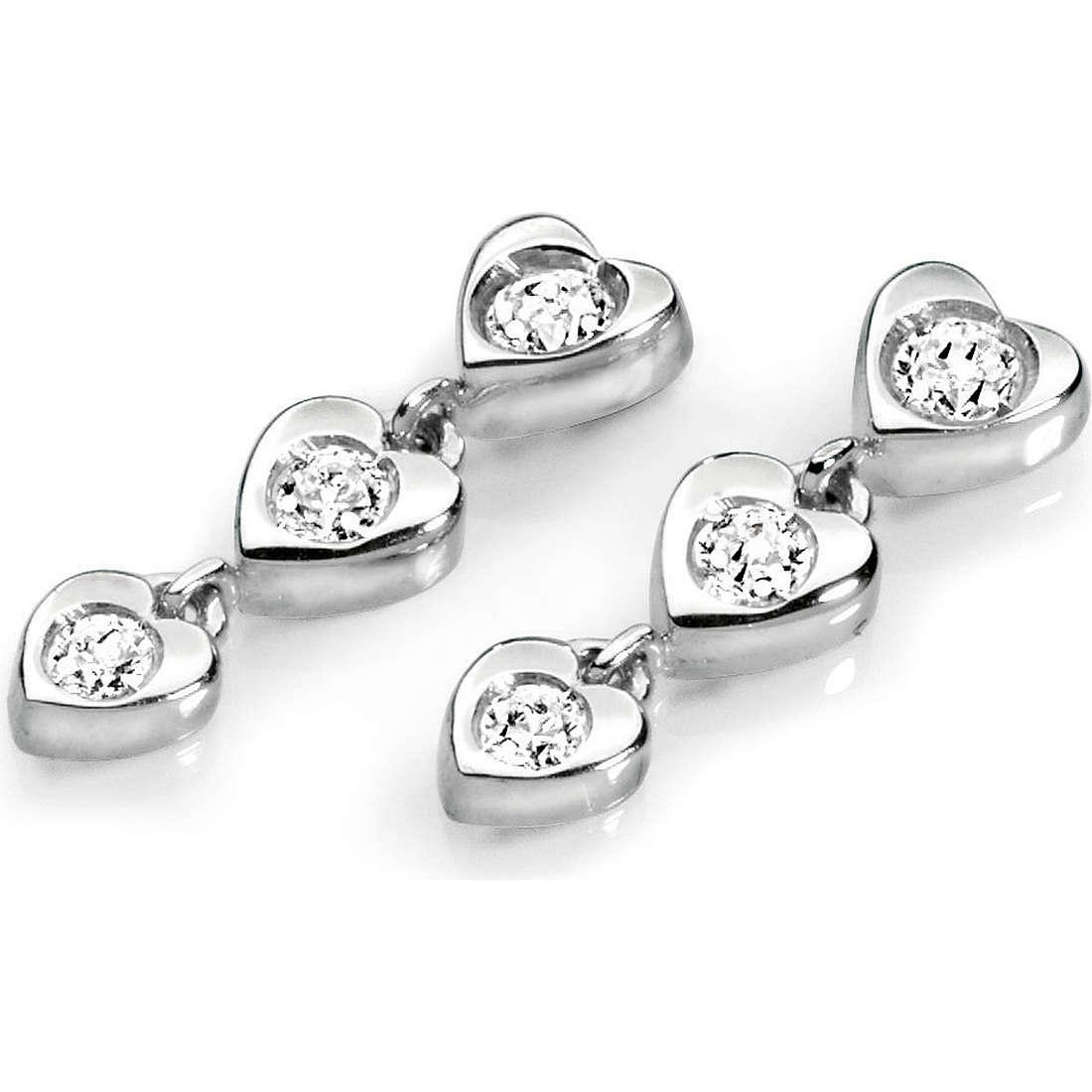 boucles d'oreille femme bijoux Ambrosia AOZ 082